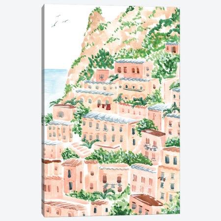 An Italian Shore Canvas Print #SAF218} by Sabina Fenn Art Print