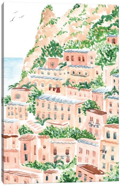 An Italian Shore Canvas Art Print