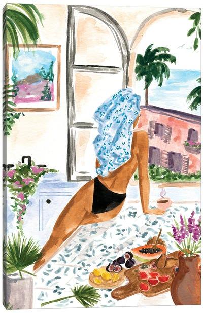 A Peaceful Morning Canvas Art Print