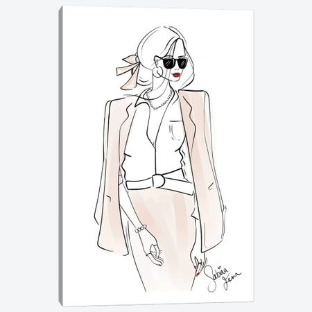 Business Attire Canvas Print #SAF21} by Sabina Fenn Canvas Artwork