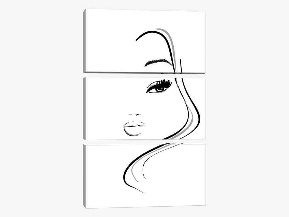 Abstract Beauty 3-piece Canvas Art