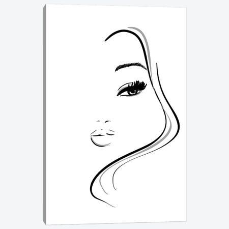Abstract Beauty Canvas Print #SAF2} by Sabina Fenn Art Print