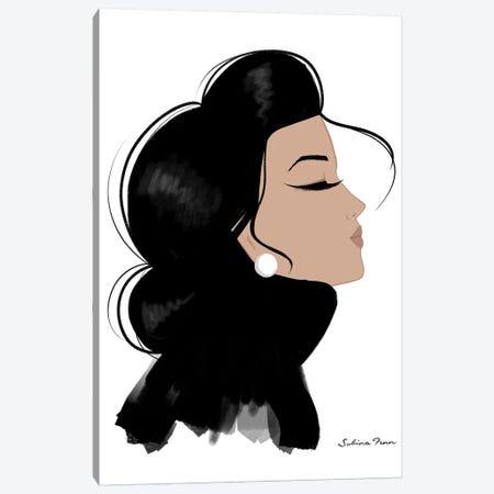 Isabella Canvas Print #SAF49} by Sabina Fenn Canvas Artwork