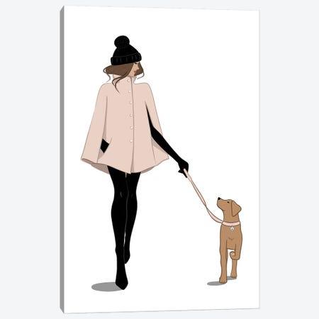 Autumn Stroll Canvas Print #SAF4} by Sabina Fenn Canvas Wall Art