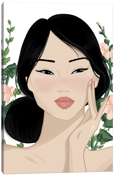 Korean Beauty Canvas Art Print