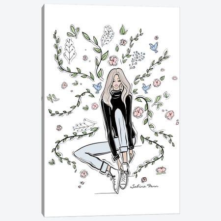 Little Dreamer Canvas Print #SAF55} by Sabina Fenn Canvas Art