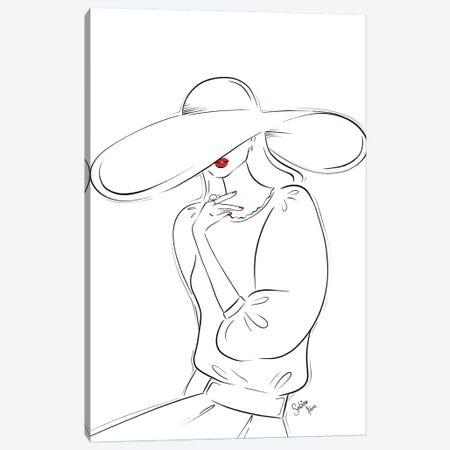 Mon Beau Chapeau Canvas Print #SAF60} by Sabina Fenn Canvas Art