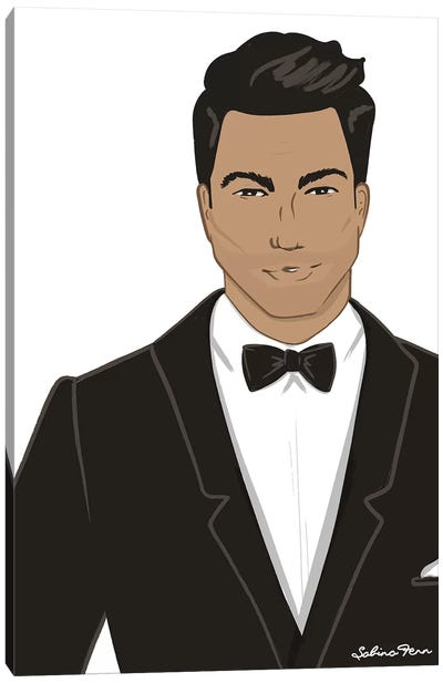 Mr. Bond Canvas Art Print