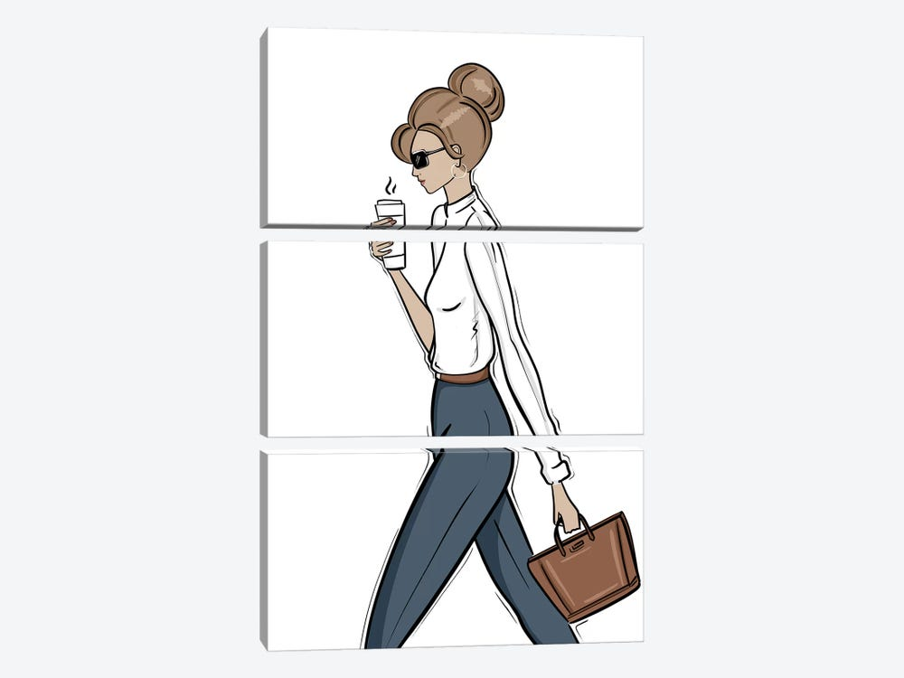 Back to Work by Sabina Fenn 3-piece Canvas Wall Art