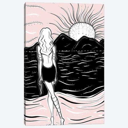 Bohemian Sunset Canvas Print #SAF7} by Sabina Fenn Canvas Wall Art