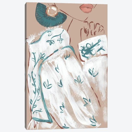 Boho Sleeve 3-Piece Canvas #SAF8} by Sabina Fenn Art Print