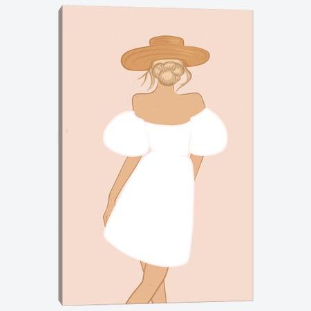 Summer Dress Canvas Print #SAF94} by Sabina Fenn Canvas Art