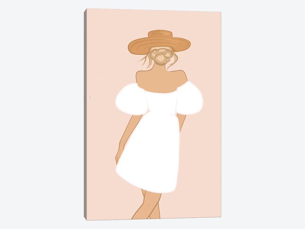 Summer Dress by Sabina Fenn 1-piece Art Print