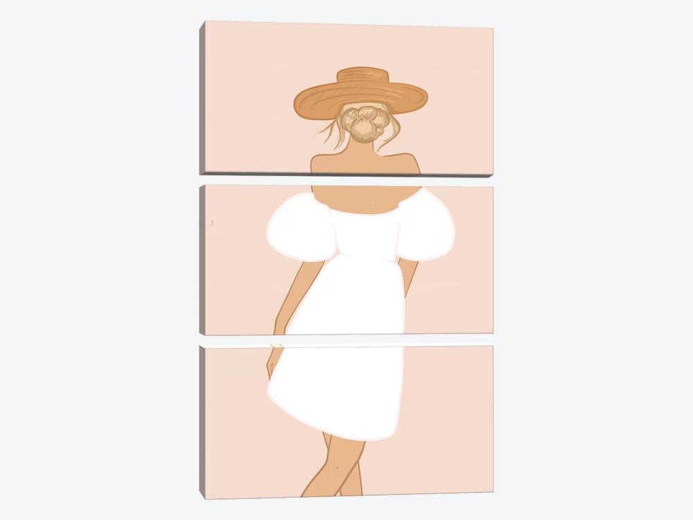 Summer Dress by Sabina Fenn 3-piece Canvas Print