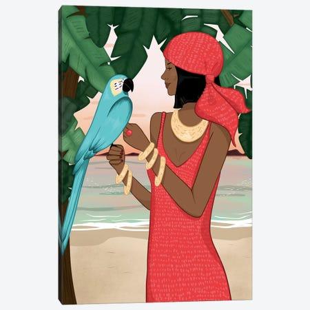 Tropical Daydream Canvas Print #SAF98} by Sabina Fenn Canvas Print