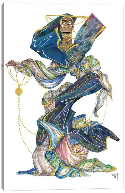 Ethereal Armani Dreams Canvas Art Print