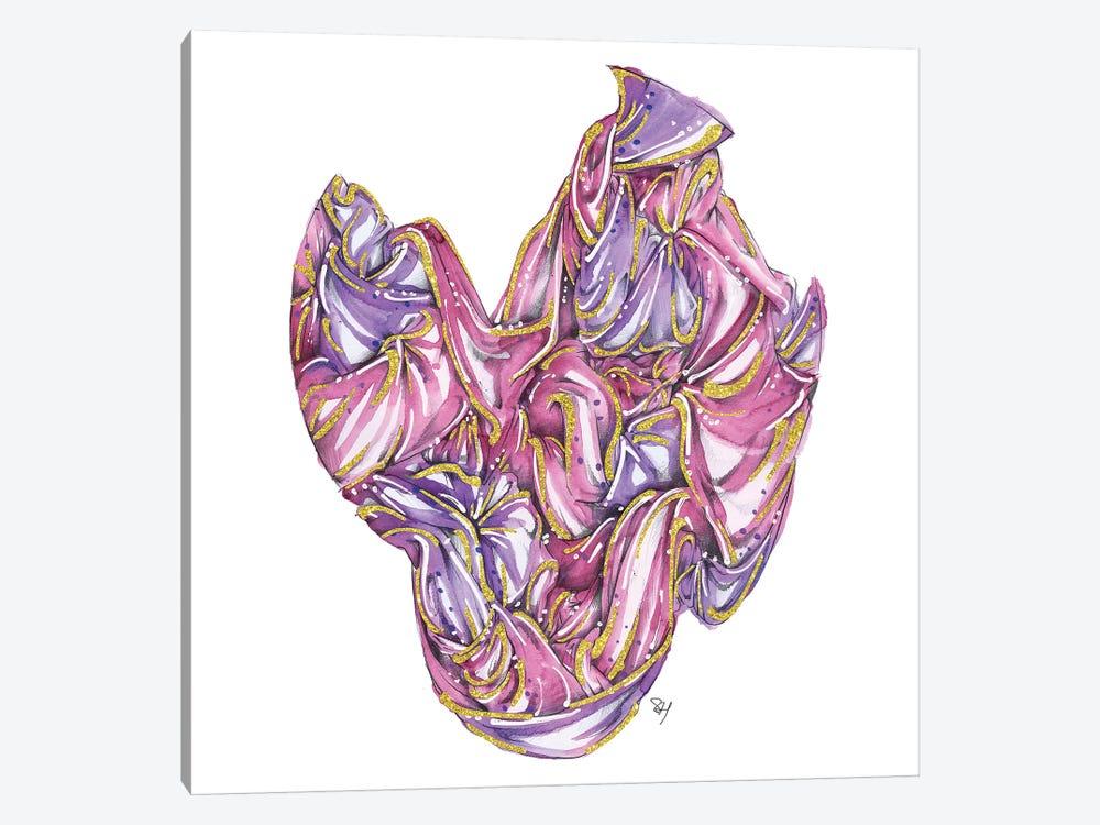 Fabric Bundle Pink by Samuel Harrison 1-piece Art Print