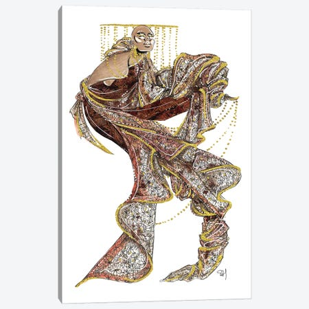 Ferragamo Autumnal Textures Canvas Print #SAH15} by Samuel Harrison Canvas Art
