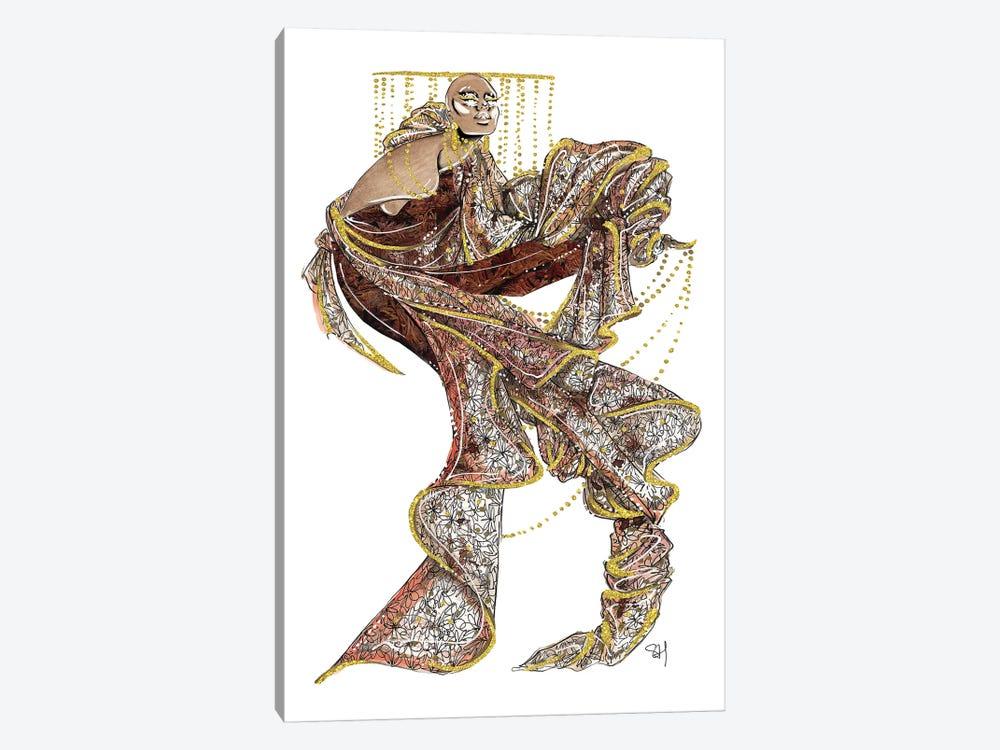 Ferragamo Autumnal Textures by Samuel Harrison 1-piece Canvas Art Print