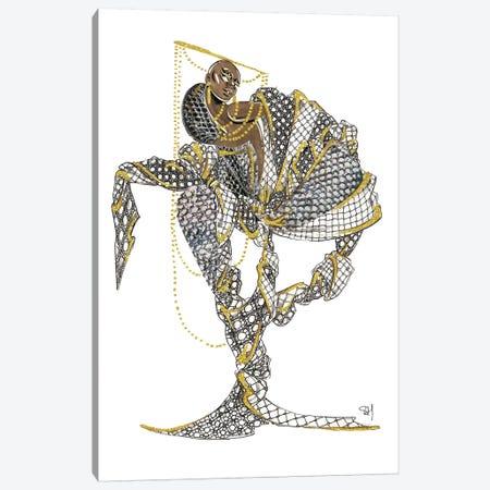 Louis Vuitton Black Magic Canvas Print #SAH22} by Samuel Harrison Canvas Artwork