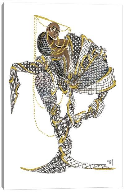 Louis Vuitton Black Magic Canvas Art Print