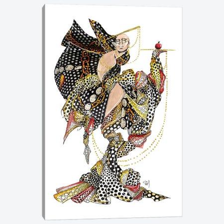 Moschino Polka Dot Pattern Canvas Print #SAH25} by Samuel Harrison Canvas Print