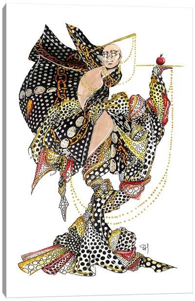 Moschino Polka Dot Pattern Canvas Art Print