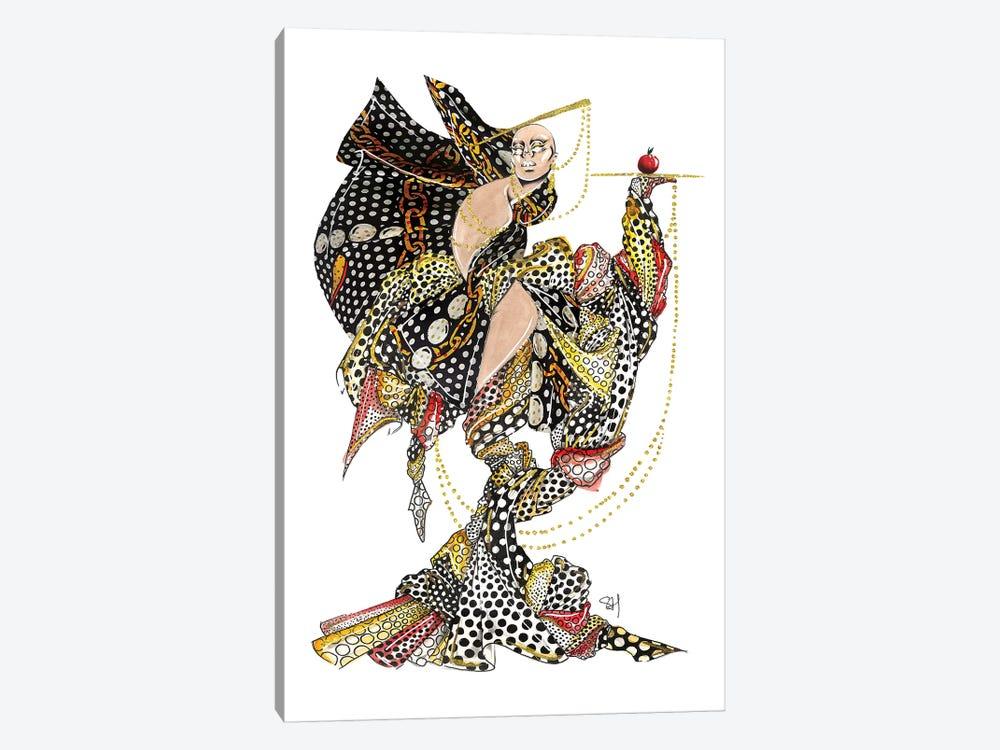 Moschino Polka Dot Pattern by Samuel Harrison 1-piece Canvas Wall Art