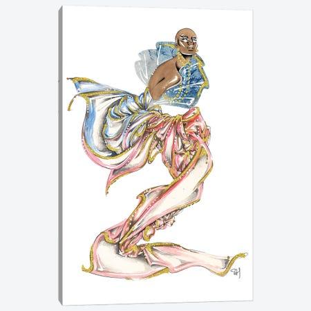 Pink And Blue Gradient Canvas Print #SAH30} by Samuel Harrison Canvas Print