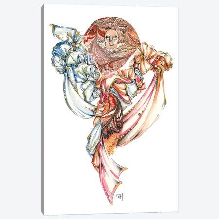 Rich Swirling Textures Canvas Print #SAH33} by Samuel Harrison Canvas Print
