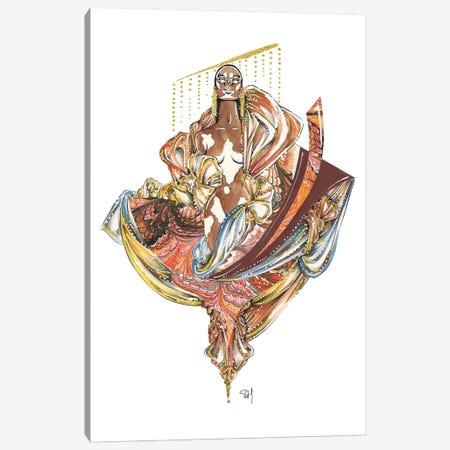 The Beauty Of Winnie Canvas Print #SAH39} by Samuel Harrison Canvas Art Print