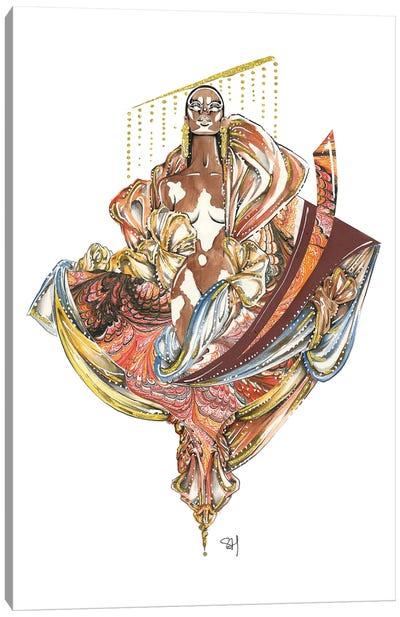 The Beauty Of Winnie Canvas Art Print
