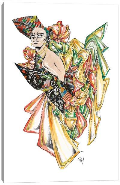Versace Floral Glamour Canvas Art Print