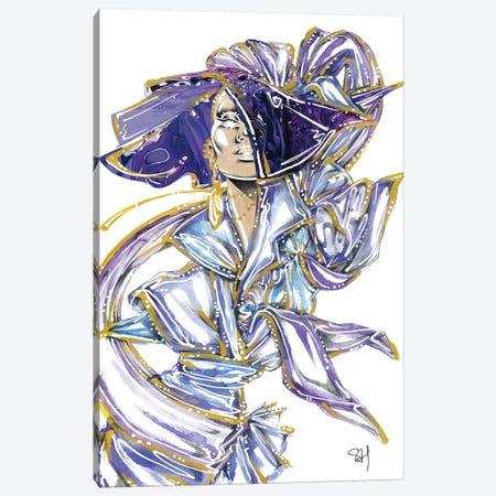 Purple Pvc Canvas Print #SAH44} by Samuel Harrison Canvas Print