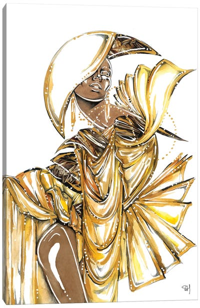 Bronze Goddess Canvas Art Print