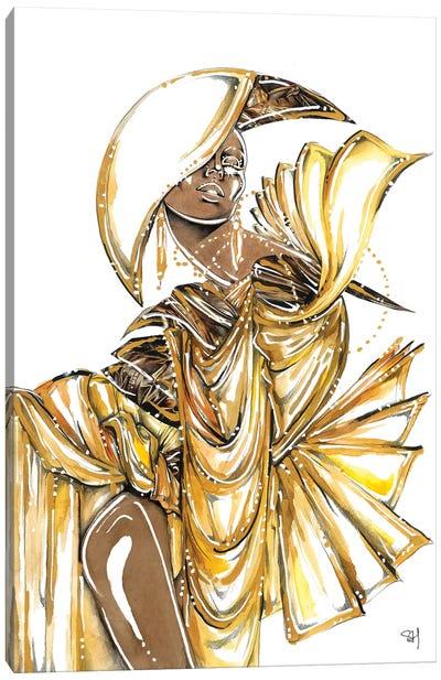 Bronze Goddess Canvas Art Print
