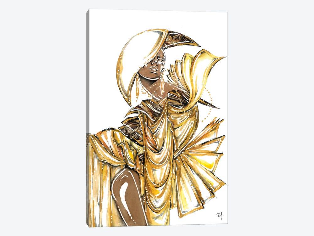 Bronze Goddess by Samuel Harrison 1-piece Canvas Artwork