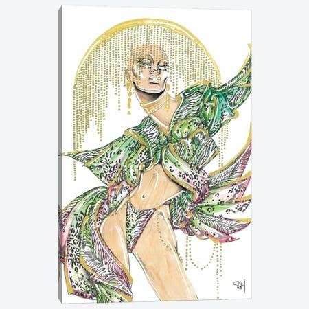 Tropical Mix Canvas Print #SAH48} by Samuel Harrison Canvas Art