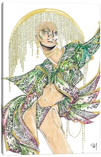 Tropical Mix Canvas Art Print