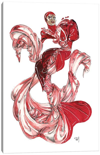 Cardi B Met Gala 2019 Canvas Art Print