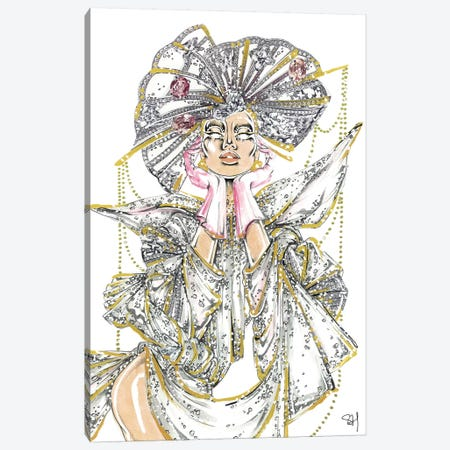 Crystal Queen Canvas Print #SAH50} by Samuel Harrison Canvas Print