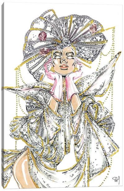 Crystal Queen Canvas Art Print