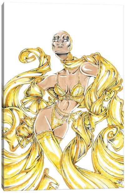 Lemon Luxury Canvas Art Print