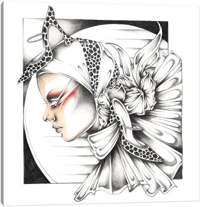 Heels And Headscarves Canvas Art Print