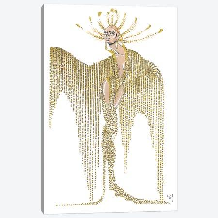 Celine Dion Met Gala 2019 Canvas Print #SAH5} by Samuel Harrison Canvas Art
