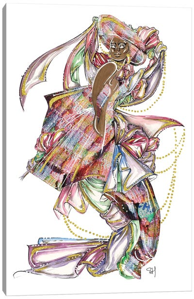 Chanel Bouclé Textures Canvas Art Print