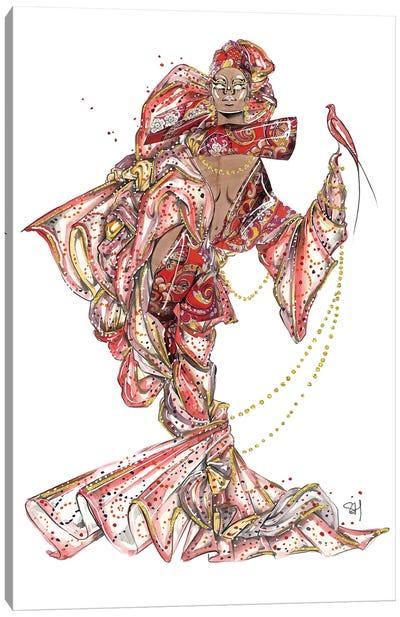 Enchanting Etro Pattern Canvas Art Print