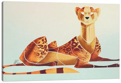 Cheetah II Canvas Art Print