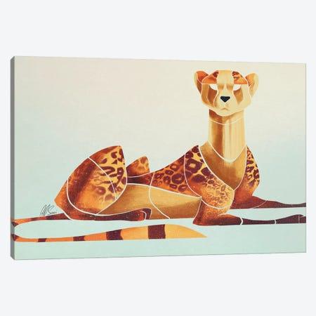 Cheetah II 3-Piece Canvas #SAI10} by SAEIART Canvas Art