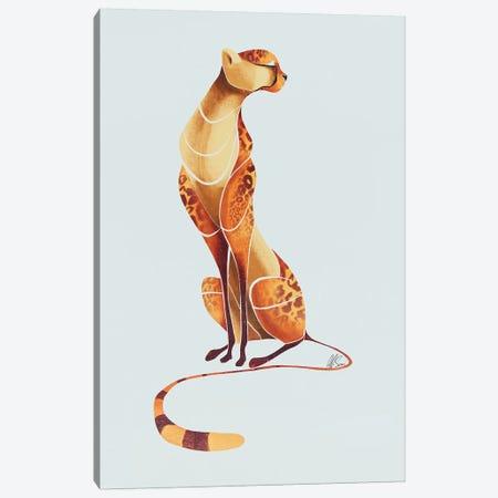 Cheetah III 3-Piece Canvas #SAI11} by SAEIART Canvas Artwork